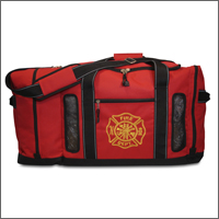 Firefighter Quad-Vent Turnout Gear Bag